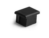ESL • Embout plein noir pour profilé gamme PDS4-accessoires-de-profiles-led-strip