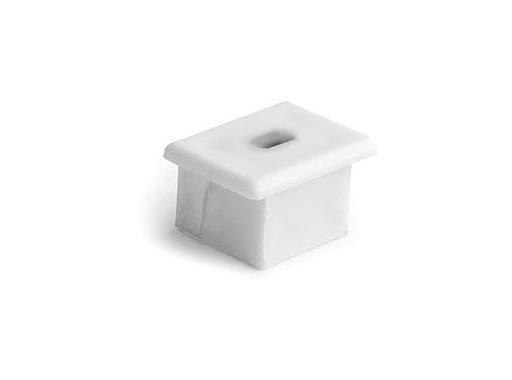 ESL • Embout passage de câble blanc pour profilé gamme PDS4