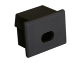 ESL • Embout passage de câble noir pour profilé gamme PDS4-accessoires-de-profiles-led-strip