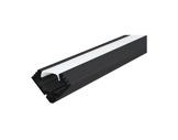 ESL • Profil alu noir 45 ALU pour Led 2.00m + diffuseur opaline-eclairage-archi--museo-