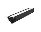 ESL • Profil alu noir 45 ALU pour Led 3.00m + diffuseur opaline-eclairage-archi--museo-