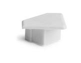 ESL • Embout plein blanc pour profilé gamme 45 ALU-accessoires-de-profiles-led-strip