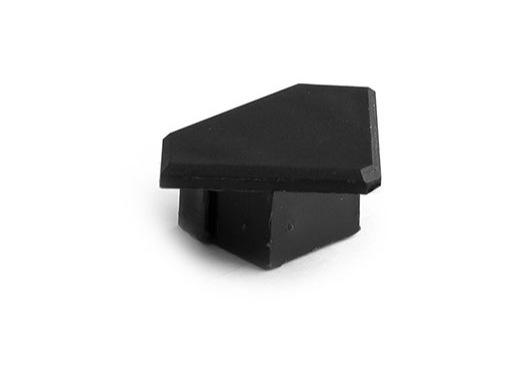 ESL • Embout plein noir pour profilé gamme 45 ALU