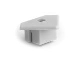 ESL • Embout passage de câble blanc pour profilé gamme 45 ALU-accessoires-de-profiles-led-strip