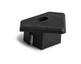 ESL • Embout passage de câble noir pour profilé gamme 45 ALU-accessoires-de-profiles-led-strip