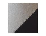 TOILE ACOUSTIQUE METALLISEE ENDUITE • Argent/Noir - 240 cm 205 g/m2 PES/PC M1-tissus-acoustiques
