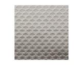 TOILE OBSCUR. SATIN METAL GAUFRE • Argent - largeur 150 cm - 256 g/m2 PES FR M1-metal