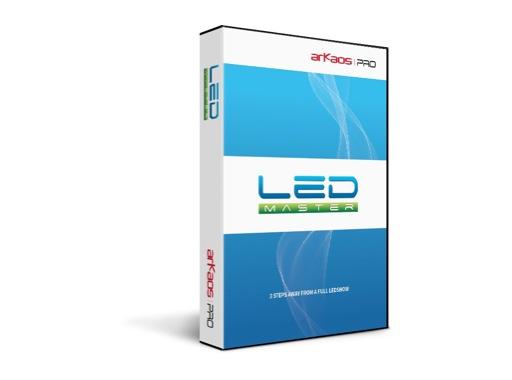 ARKAOS • Logiciel LEDMaster Boite avec CD