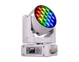 Lyre Wash asservie Diamond19 Full RGBW 19x15 W, zoom 6-66° blanche • PROLIGHTS-lyres-automatiques