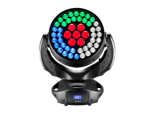 Lyre asservie wash LED WONDER.D DTS Full RGBW FPR, double zoom