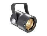 Projecteur FOCUS PINSPOT 1 LED 3 000 K 4 ° IP65 gris anthracite • DTS-projecteurs-en-saillie