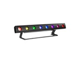 PROLIGHTS • Barre LED sur batterie Z8STRIP Full RGBW 8x10 W IP65-projecteurs-autonomes-sur-batterie