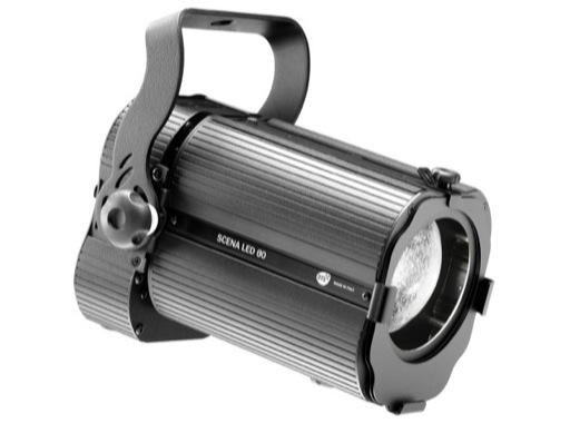 DTS • Projecteur PC SCENA LED 80 4000 K 80 W zoom 14° / 77°