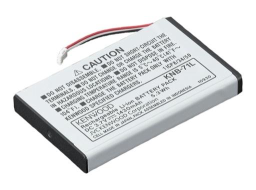 KENWOOD • Batterie pour PKT-23E Li-Ion battery pack (3,8V 1430mAH)