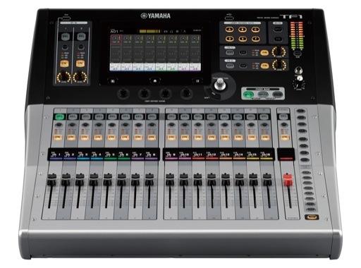 YAMAHA • Console numérique TF1, 16 Micros + 2 ST, 20 aux, 8 multi-effets, 10 GEQ