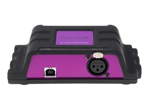 VISUAL PRODUCTIONS • Cuelux Logiciel de contrôle livré avec câble USB/DMX