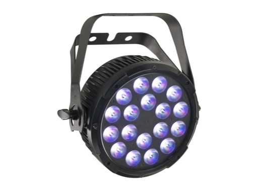 PROLIGHTS • Projecteur à leds LUMIPAR18QPRO 18 x 8 W Full RGBW 45°