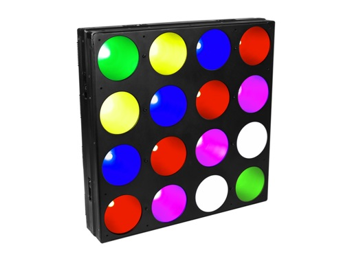 PROLIGHTS • Panneau LED PIXPAN16 16x30 W COB Full RGB