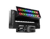 Lyre Wash LED asservie AIR18Z PROLIGHTS Full RGBW 18 x 15 W double zoom 6-66°-eclairage-spectacle
