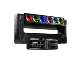 PROLIGHTS • Lyre Wash asservie AIR6PIX Full RGBW 6x40 W double pivot 4.5°-eclairage-spectacle