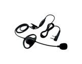 KENWOOD • Micro casque avec oreillette & PTT pour TK 3401DE,TK 3501E et TK 3701D-talkies-walkies