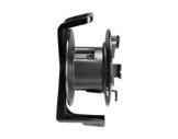 Enrouleur • PVC noir Ø fût 170 mm, 392 x 312 x 234 mm-cablage