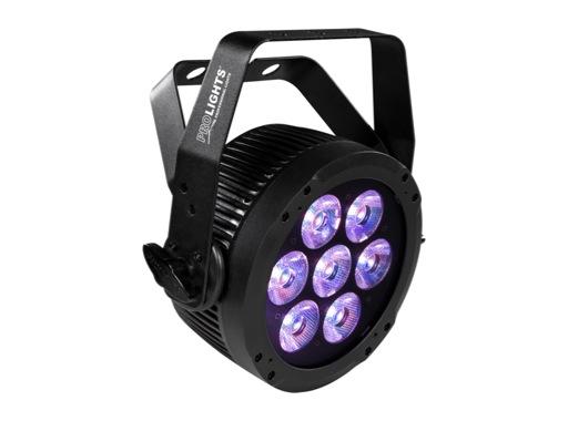 PROLIGHTS • Projecteur à leds LUMIPAR7QTOUR 7 x 10 W Full RGBW