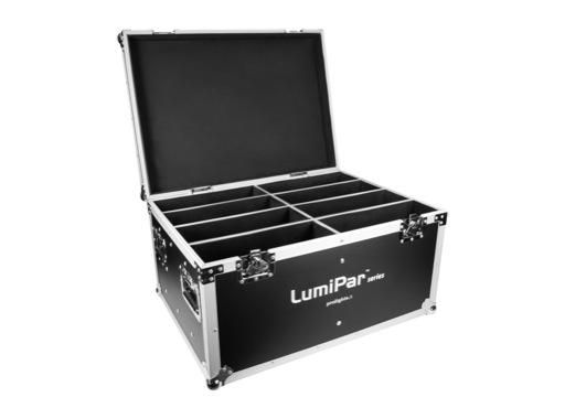 PROLIGHTS • Flightcase pour 8 projecteurs de la gamme LUMIPAR