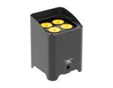 Projecteur sur batterie noir SMARTBATHEX 4x10 W Full RGBAWUV • PROLIGHTS TRIBE-projecteurs-autonomes-sur-batterie