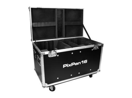PROLIGHTS • Flight case pour 4 PIXPAN16