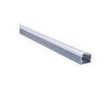 ESL • Profil alu anodisé 14mm pour Led 1.00m + diffuseur opaline PDS4-14MM