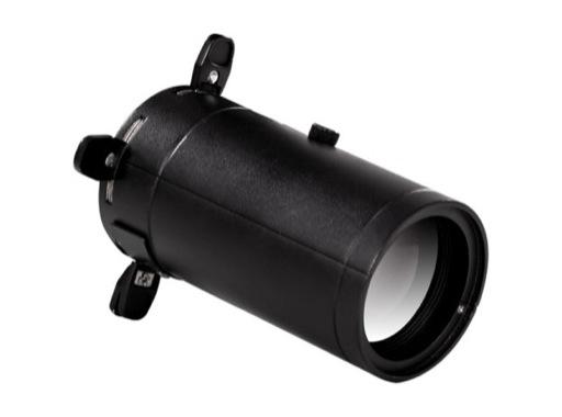 PROLIGHTS • Optique fixe 50° pour découpe gamme MINIECLIPSE noire