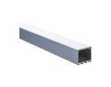 ESL • Profil alu anodisé pour Led 1.00m + diffuseur transparent LIPOD-eclairage-archi--museo-