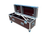 INNLED • Flightcase 6 têtes + 6 tubes ≤1,26m + 6 embases et 2 embases batteries