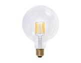 Lampe LED Vintage globe claire 8W 230V E27 2200K 620lm IRC90 gradable • SEGULA-lampes-led