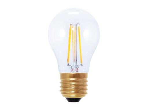 SEGULA • LED Vintage standard claire 3,5W 230V E27 2200K 200lm IRC=90 gradable