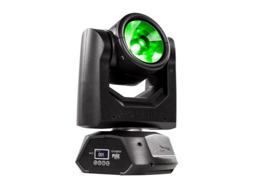 PROLIGHTS • Lyre Beam asservie PIXIEBEAM, LED 1 x 60W RGBW/FC 4,5°