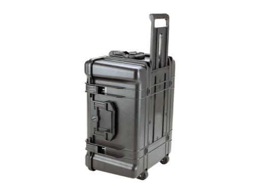 OC • Valise étanche 585 x 410 x 295 mm int mousse, roues + trolley 74L
