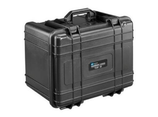 OC • Valise étanche 430 x 300 x 300 mm int avec mousse 38L