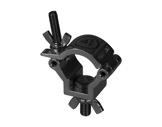PROTRUSS • Collier alu léger noir M10 pour tube Ø 32-35mm CMU 75kg-structure--machinerie