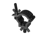 PROTRUSS • Collier alu léger noir M10 pour tube Ø 32-35mm CMU 75kg-structure-machinerie