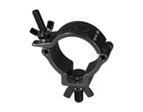 PROTRUSS • Collier alu léger noir M10 pour tube Ø 48-51mm CMU 100kg-structure-machinerie