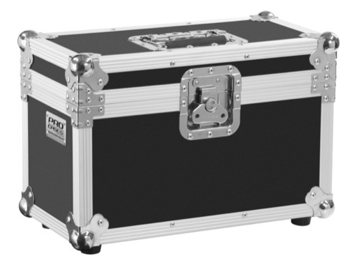 Flight case • Malette 12 micros 420 x 270 x 210mm
