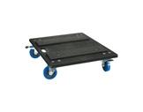 GDE • Plateau 4 roulettes (2 avec freins) pour FCxxU/TPR520-flight-cases-tradition-pro
