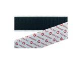Velcro adhésif PS18 • Crochet noir 25 mm - prix au ml (spécial PVC)-textile