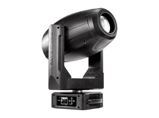 Lyre asservie Spot LUMA1500 version couteaux source LED 440 W • PROLIGHTS