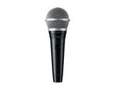 SHURE • Micro voix PGA48 dynamique cardioïde XLR + interrupteur-audio