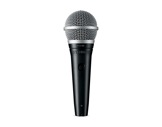SHURE • Micro voix PGA48 dynamique cardioïde XLR + interrupteur-micros