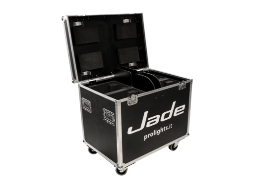 PROLIGHTS • Flight case pour 4 lyres JADE