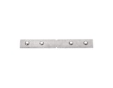 ESL • Raccord inox série double alu droit horizontal-accessoires-de-profiles-led-strip